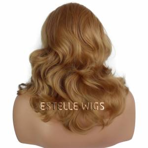 IVY-Light Golden Blonde Wavy Lace Front Wig