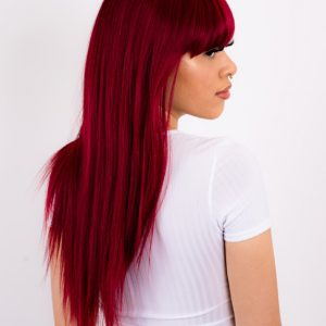 NIKKI-Long Straight|Fringe Full Synthetic Wig
