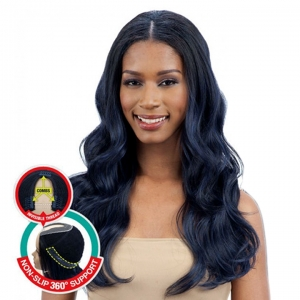BODY WAVE-Freetress Equal Synthetic Full Wig Oval Part