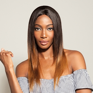SILKY YAKI-100% Virgin Brazilian Wig By FEME
