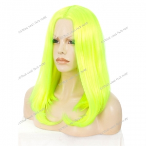 ESHA-Neon Green Lace Front Wig