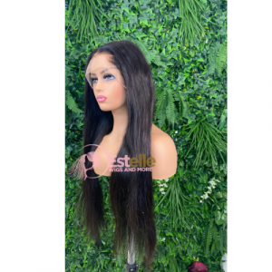 TENI-30″ Human Hair Lace Front Wig