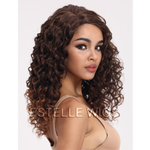BROOKE-Curly Lace Parting Wig