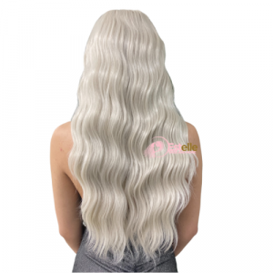 SIA-Ash Blonde Wavy Lace Front Wig