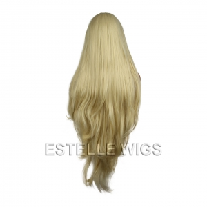 "CHLOE-Blonde 40"" Long Straight layered Lace Front Wig"