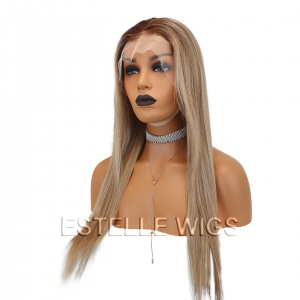 CHARLOTTE – 22″  Human Hair Lace Front Wig