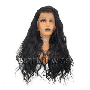 ILARIA: BLACK LACE FRONT WIG