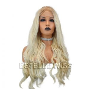 ROOOTED bLONDE LACE FRONT WIG
