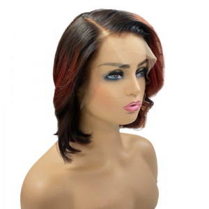 APRIL -Brazilian Human Lace Front Wig