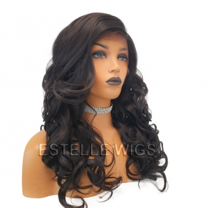 Anna- Curly Deep Side Part Lace Front Wig