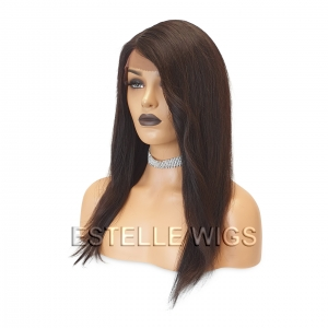 REBECCA-100% Human Hair Lace Front Wig