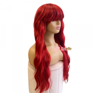 UNICE-Red Wavy Wig
