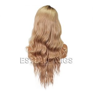 CANDY-26″100%  Human Hair Lace Frontal Wig