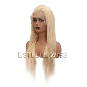 CHER-24″100%  Human Hair Lace Front Wig