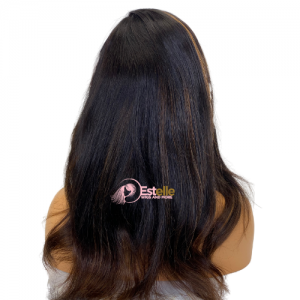 AIKO-100% Human Hair Lace Front Wig