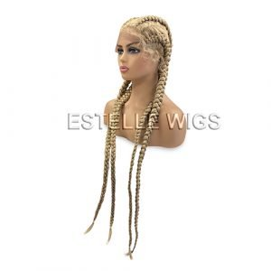 EDEN – Blonde Braided Lace Front Wig