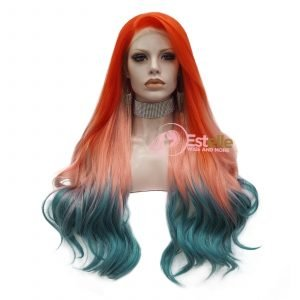 PH11-Wavy Lace Front Synthetic Wig